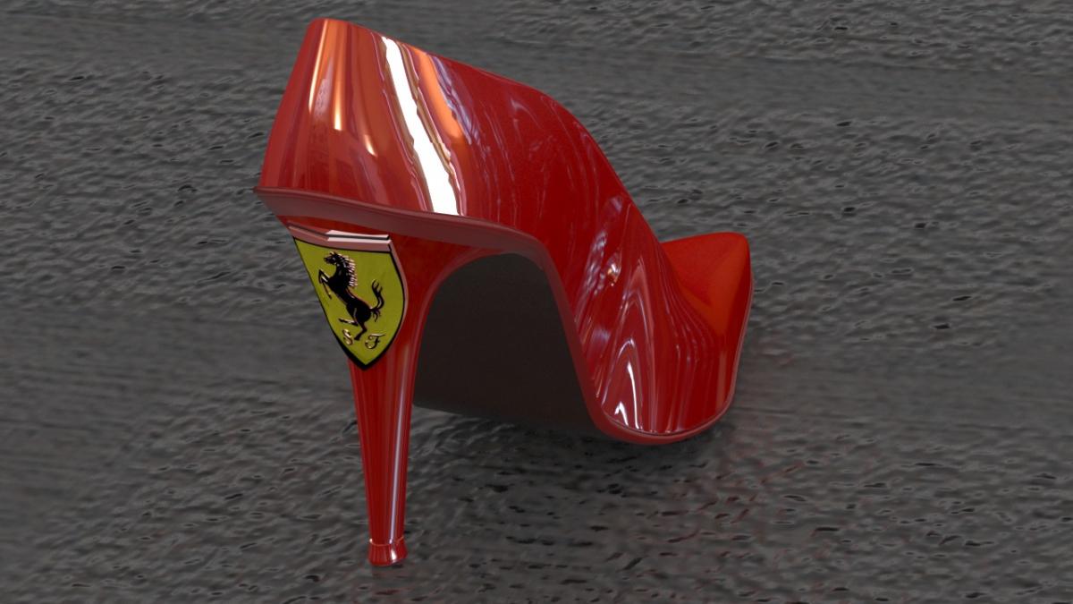 Ferrari Shoe